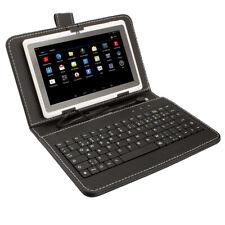 Schutzhülle mit USBTastatur(USBKeyboard) Tasche -Cover für bis 10.1 Zoll Tablet