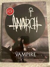 Vampire 5e Anarch Book