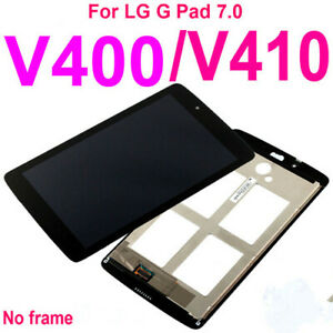 Touch Screen Digitizer +LCD display For LG G Pad 7.0 V400 V410
