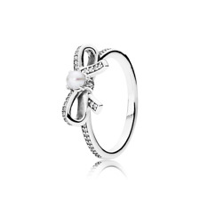 Retired Pandora Delicate Sentiments Silver Ring RRP $79 190971P
