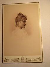 Freiburg i. B. - 1890 - Mimi Martin als junge Frau - Portrait / KAB