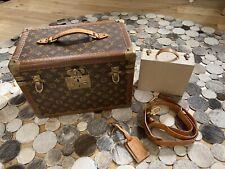 Louis Vuitton Vintage Vanity Case Make Up Soap Bag M21826