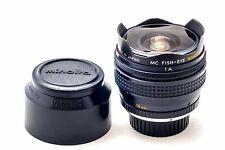 MINOLTA Legendary Rokkor X OK MC 16mm F2.8 Fish-Eye Super-wide costruito in filtri