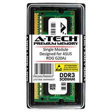 A-Tech 8GB DDR3 1600 PC3-12800 1.35V 2Rx8 SODIMM Memory RAM for ASUS ROG G20AJ