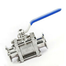 Ball Valve for Rough Vacuum Isolation, Both Sides KF16 Flange