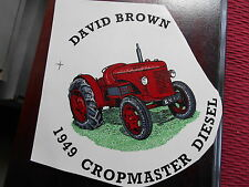 "1990s  5"" SMOOTH SURFACE TRANSFER OF 1949 DAVID BROWN CROPMASTER  DIESEL TRACTOR"