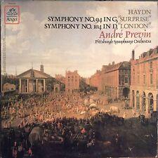 ANDRE PREVIN Symphony No 94/104 HAYDN EX+ ANGEL VINYL LP SZ-537575