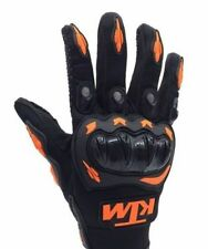 KTM Inspired Motorcycle MX Motocross Racing Gloves Orange Black XL