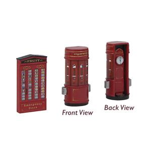 Bachmann 44-597 Platform Vending Machines - OO Scale