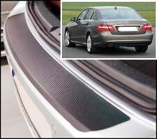 Mercedes-Benz E Class W212 saloon - Carbon Style rear Bumper Protector