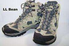 LL Bean Winter Hi-top Sneakers Women 9M Green Vintage 1990s Dri-Lex OFCJ904 Flaw