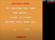 1980 Rally X ORIGINAL ARCADE PCB Tested Working 100%