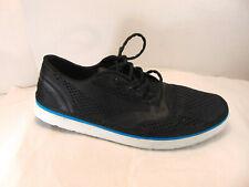 New listing Quiksilver Mens Ag47 Amphibian Shoes - Black / Blue / White Size Us Mens 10