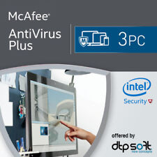 McAfee Anti-Virus Plus 2019 3 Appareils 3 Pc   1 an Antyvirus 2018 FR EU