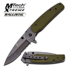 MTech Extreme MX826 Assisted Opening 7.75 Inch Knife Stonewash - G10 - Framelock