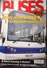 Buses Magazine Jan 2003 - MAN, Arriva in Stafford, buses in Burton, London