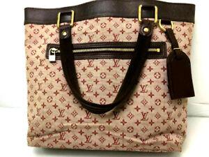 LOUIS VUITTON Lucille GM Cerise Monogram Mini Lin Handbag