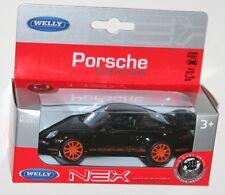BMW 330i in Metalic Blue 1.38 NEX Welly Diecast Model Car Boxed Boys Toys