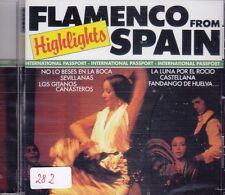 Flamenco Highlights From Spain + CD + 16 heißblütige Hits Urlaubsfeeling Spanien