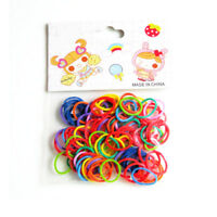 170/340pcs Mixed Assorted Rubber Bands Pet Dog DIY Hair Bow Grooming Accessories