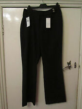 Smart Black Bootcut Trousers in Size 10 - BNWT - L29