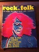 ROCK & FOLK N°50/MARS 1971/IKE & TINA/TURNER/LES BYRDS