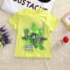 Buzz L'éclair T-shirt Manches Courtes Haut Enfants Garçons Filles Été Âge