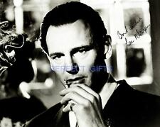 LIAM NEESON SCHINDLERS LIST SIGNED 10X8 INCH REPRO PHOTO PRINT taken