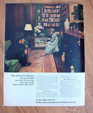 1968 Sears Silvertone TV Television Ad The Peter Duchins  New York City