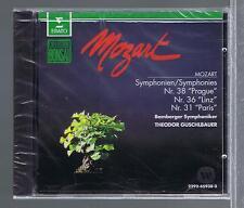 MOZART CD NEW SYMPHONIES 38.36.31 THEODOR GUSCHLBAUER