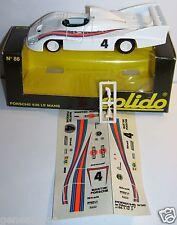 OLD SOLIDO PORSCHE 936 LE MANS 1977 N°4 REF 86 1/43 BOX DECALQUES RETROVISEURS b
