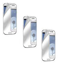 3 x Premium Mirror Pre Cut Screen Protector for Samsung Galaxy S3 I9300