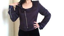Emporio Armani purple tailored suit jacket UK Size 10 / IT size 42