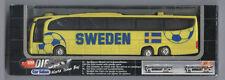 Orig.Miniature Team Bus    World Cup GERMANY 2006  -  TEAM SWEDEN / in Orig.pack