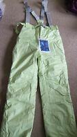 NEW TRESPASS PALE BLUE SKI TROUSERS/SALOPETTES Size L
