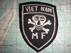 Vietnam War ARVN Special Forces Mike Force VIETNAM M-F Patch