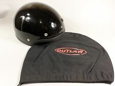KBC TK410 1/2 Style Motorcycle Helmet Small with cover