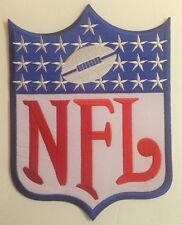 "NFL Shield /crest 8.1""x 10.9""Inch  Iron On  Patch"