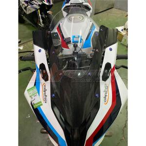 BMW S1000RR 2020 Windscreen Windshield Wind Deflector Higher 100% Carbon Fiber