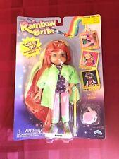 Rainbow Brite Color Glo Doll 1997 Amber RARE NEW NIB