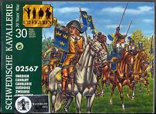 Waterloo 1815 Miniatures 1/72 SWEDISH CAVALRY Thirty Years War Figure Set