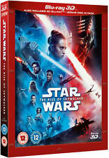 STAR WARS: THE RISE OF SKYWALKER [Blu-ray 3D + 2D] UK Exclusive 3D w/ Slipcover