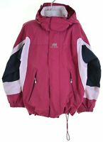 HELLY HANSEN Girls Rain Jacket 6-7 Years Pink Nylon  DZ22