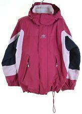 HELLY HANSEN Girls Rain Jacket 6-7 Years Pink Nylon  DZ22