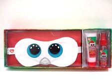 Ty Beanie Boos Sweet Dreams Sleep Set Eye Mask strawberry Lotion & Pillow Spray
