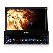 Autoradio con Touchscreen Monitor Schermo 18cm Lettore DVD USB Bluetooth DIN ISO