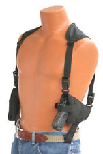 SCCY CPX-1 Shoulder Holster PRO-TECH Deluxe Model with Double Magazine Pouch