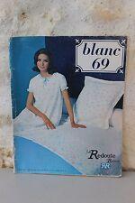 Ancien catalogue  La REDOUTE à Roubaix - Blanc - 1969