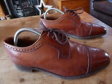 mens CHEANEY berne brogues - size 9.5 F good condition