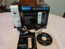 MEDIAGATE MG-45 NETWORK MULTIMEDIA PLAYER WITH BOX AND ACCESSORIES